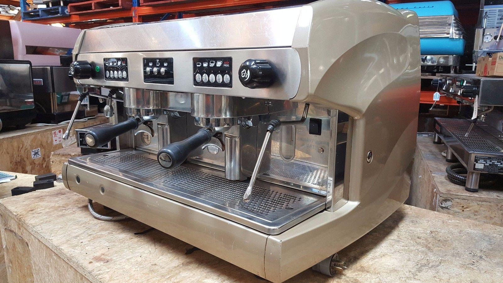 Wega 2 group espresso coffee machines.
