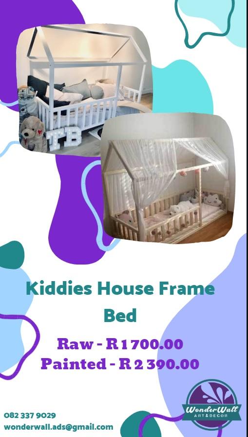 Kids House Frame Bed