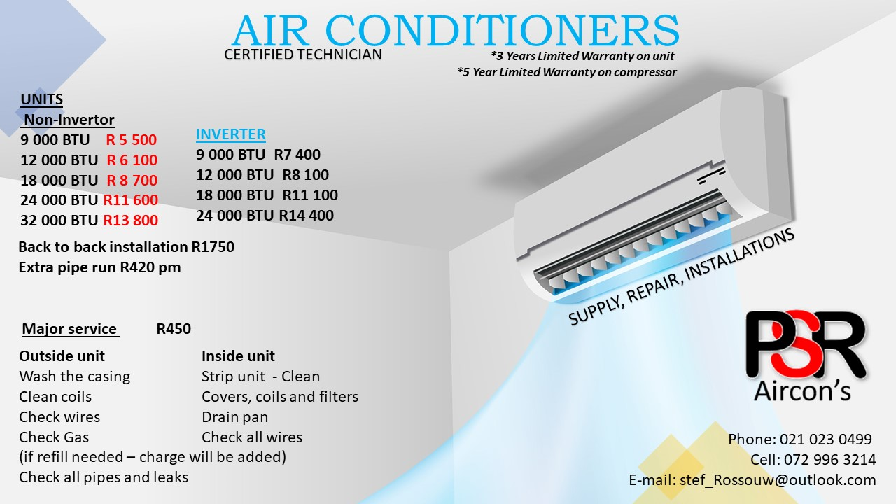 Jet Air Air Conditioner's