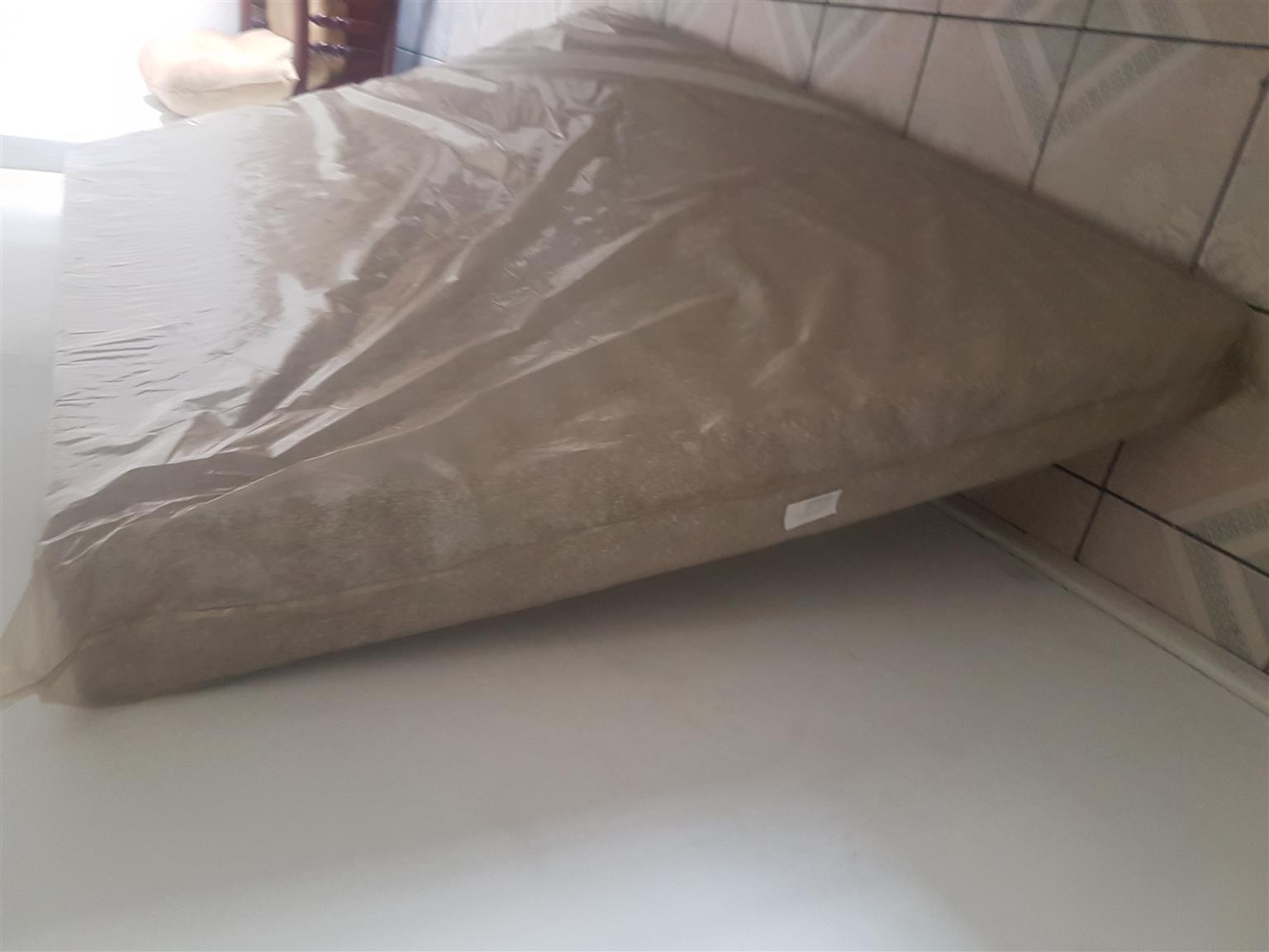 Single high density foam mattress