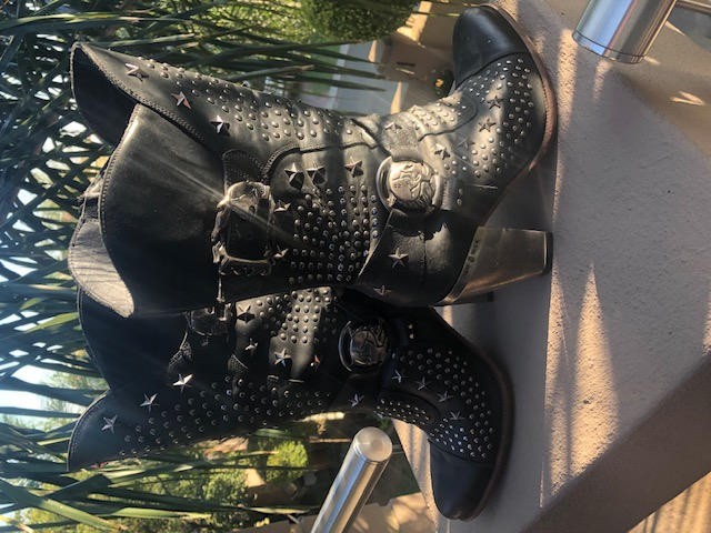 Ladies New Rock Bike Boots for Sale.