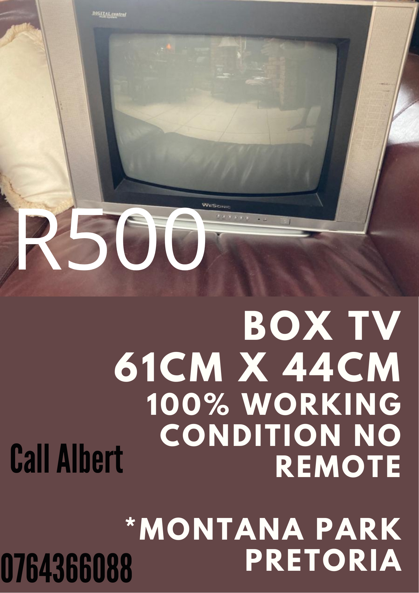 Box Tv R500 without remote
