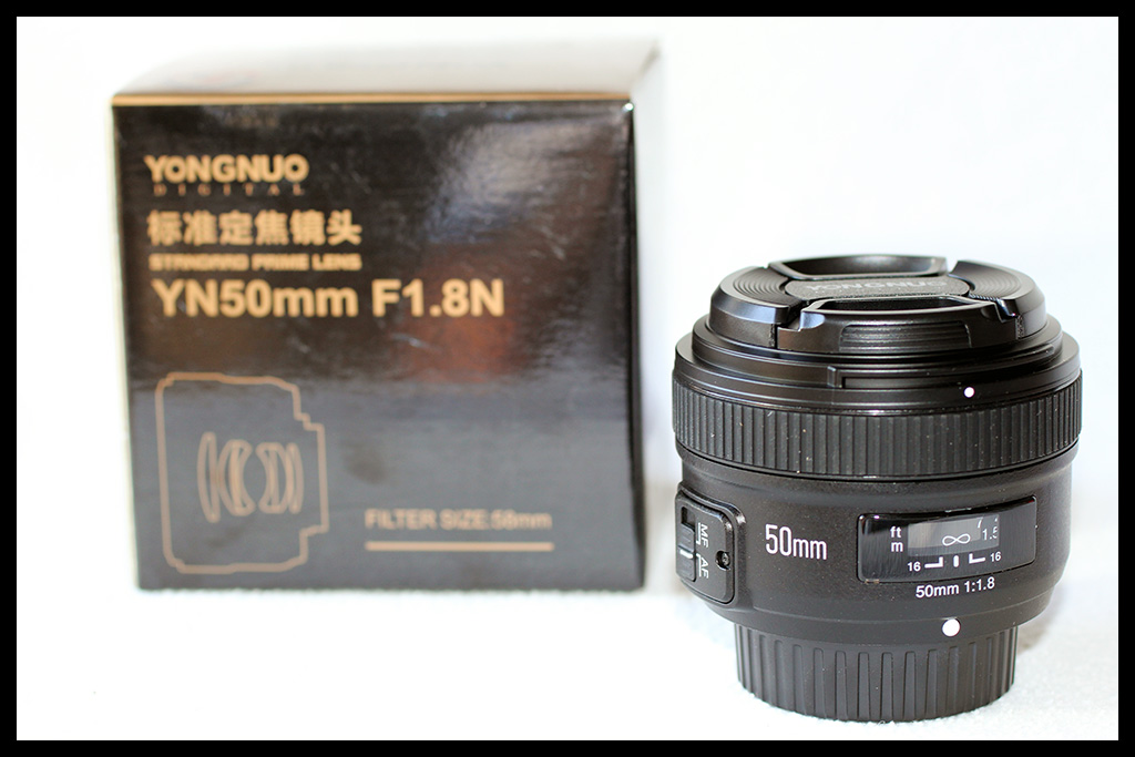 YongNuo 50mm f/1.8 for Nikon