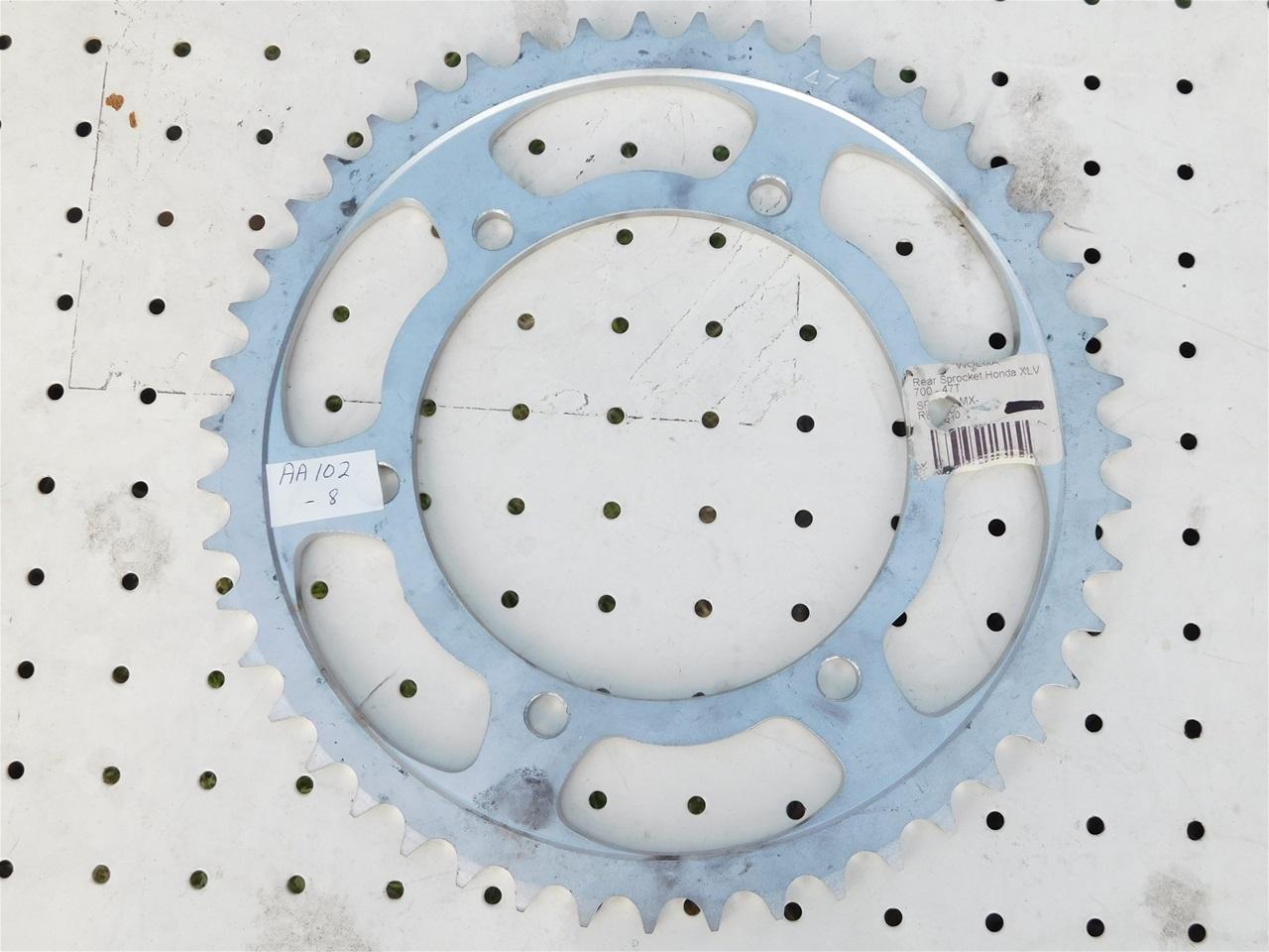 AA102.8 Rear sprocket Honda XLV 700 47 teeth