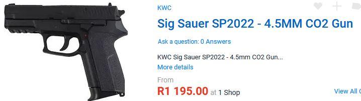 Sig Sauer 2022