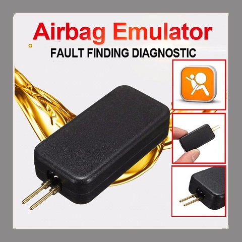 Airbag reset tool: Airbag Simulator Emulator Bypass Garage SRS Fault Vinden Diagnostic To