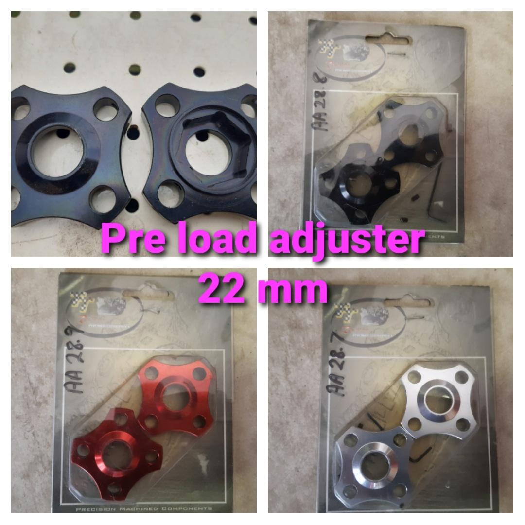 Pre load adjuster