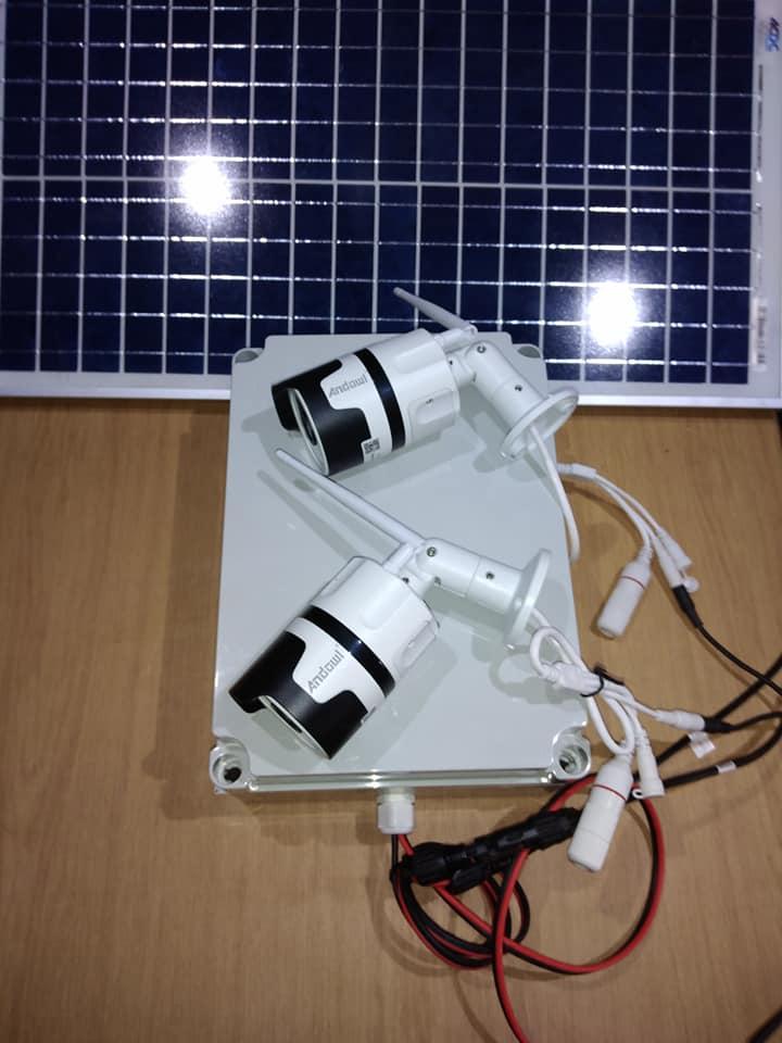 PTZ Camera Solar Kit