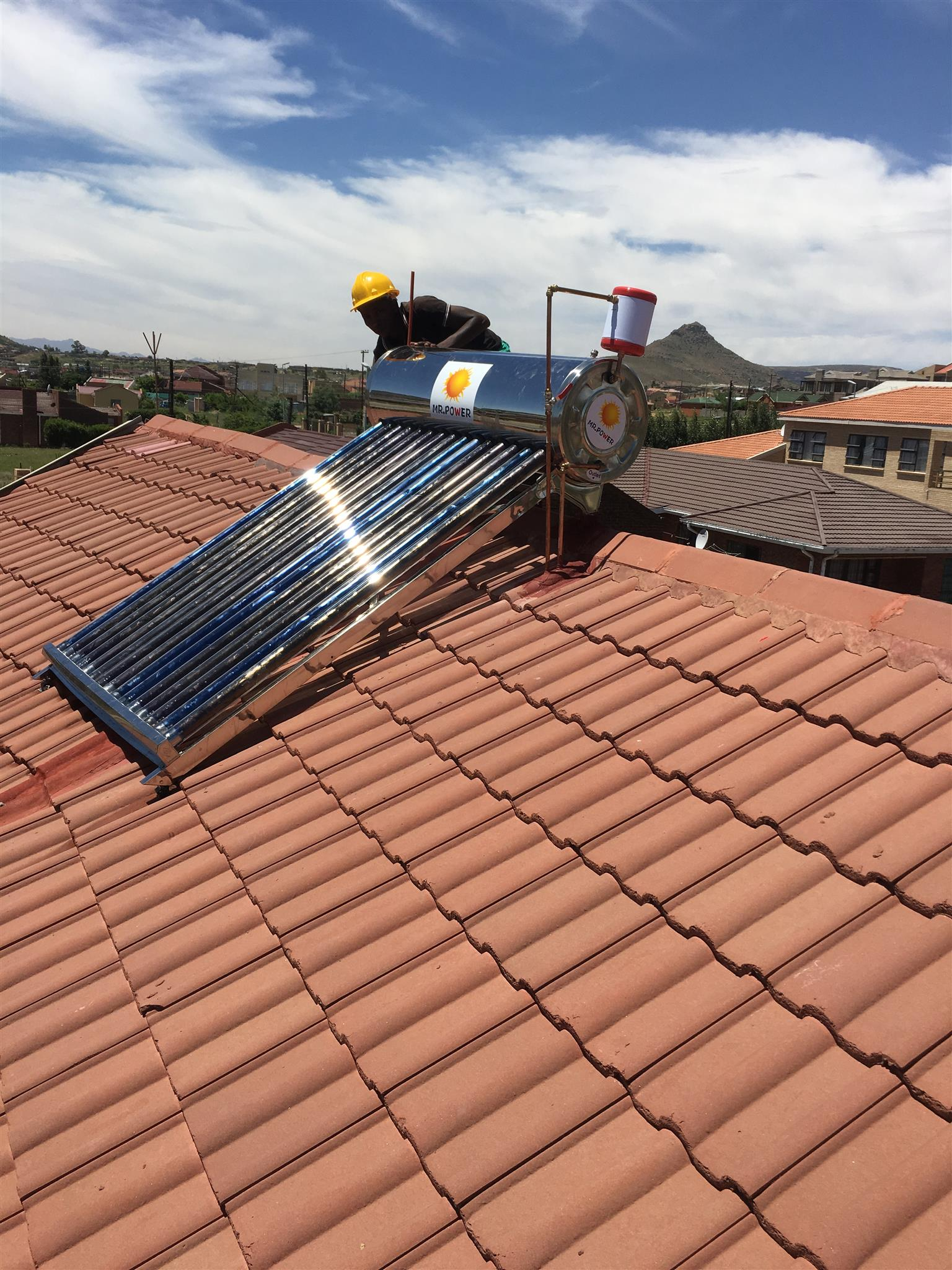 Electrical,plumbing,solar,battery,deep cycle,Gird-Tie & Off-Grid System,UPS,led Downlingts,Geyser