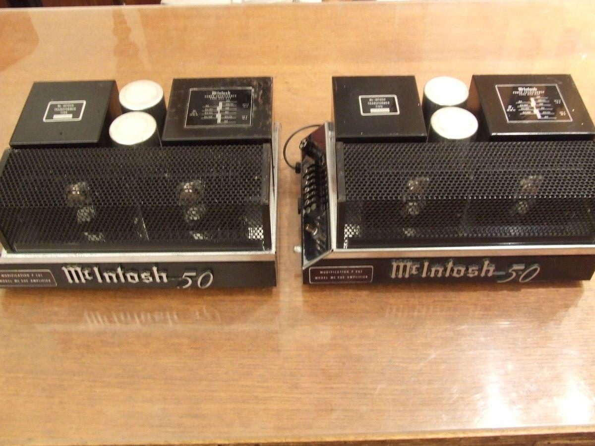 McINTOSH MONO BLOCK POWER AMPLIFIERS
