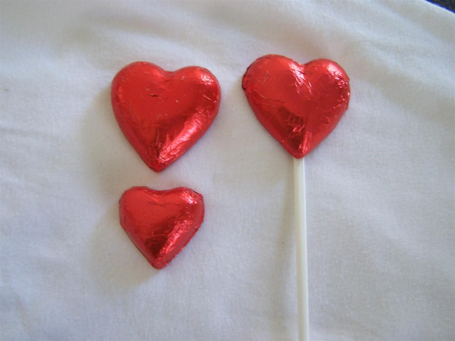 Valentine Chocolate Hearts & choc Roses- for business, Corporate, schools, restaurants etc