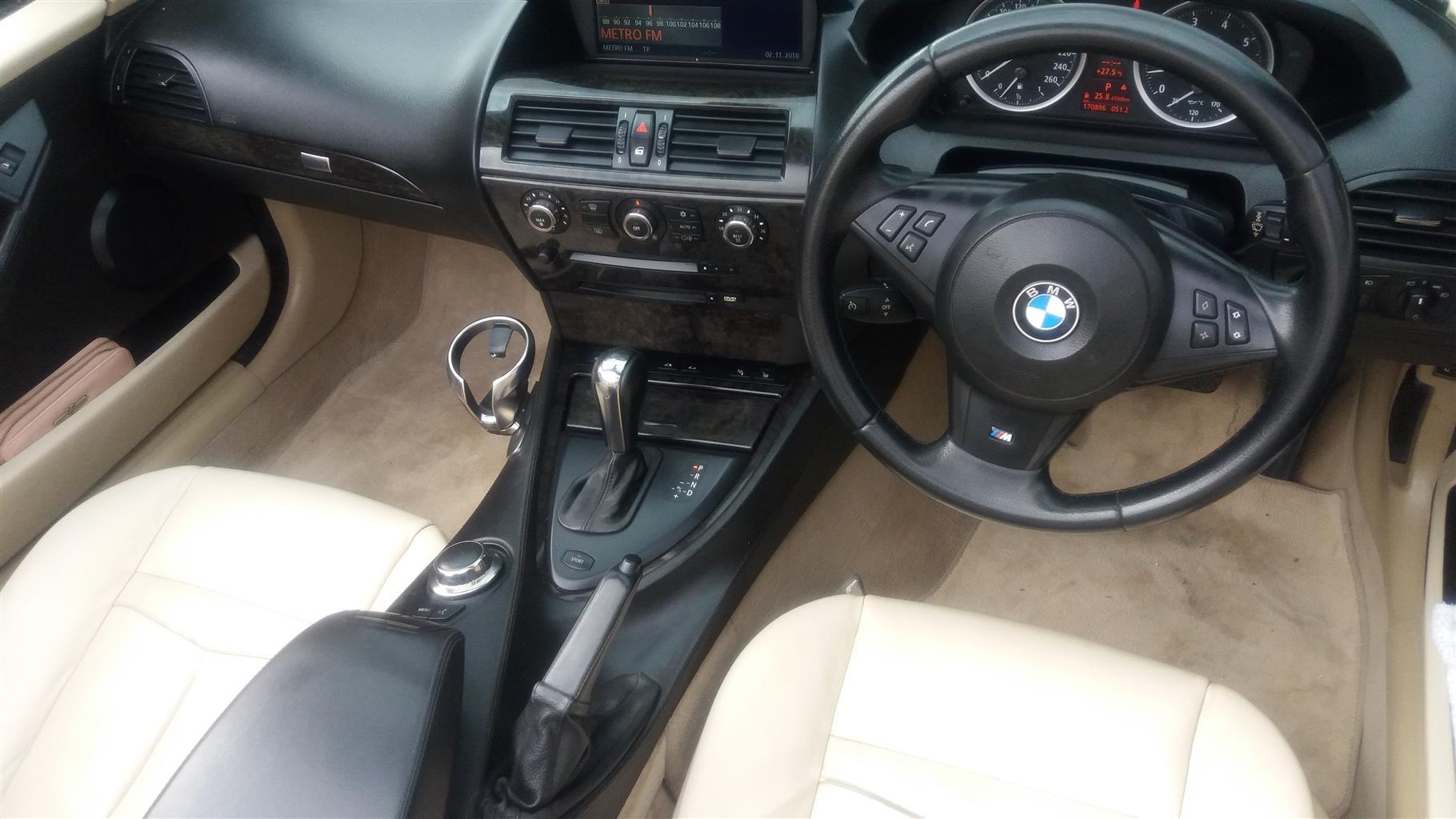 2006 BMW 6 Series convertible 650i CONVERT A/T (F12)