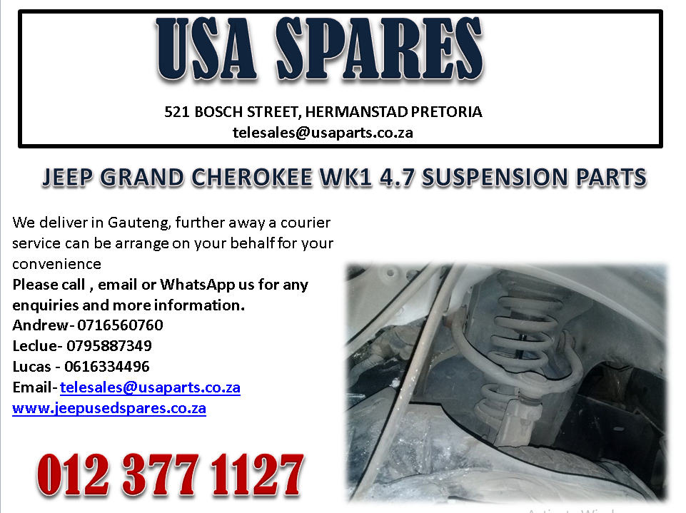 JEEP GRAND CHEROKEE WK1 4.7 SUSPENSION PARTS FOR SALE