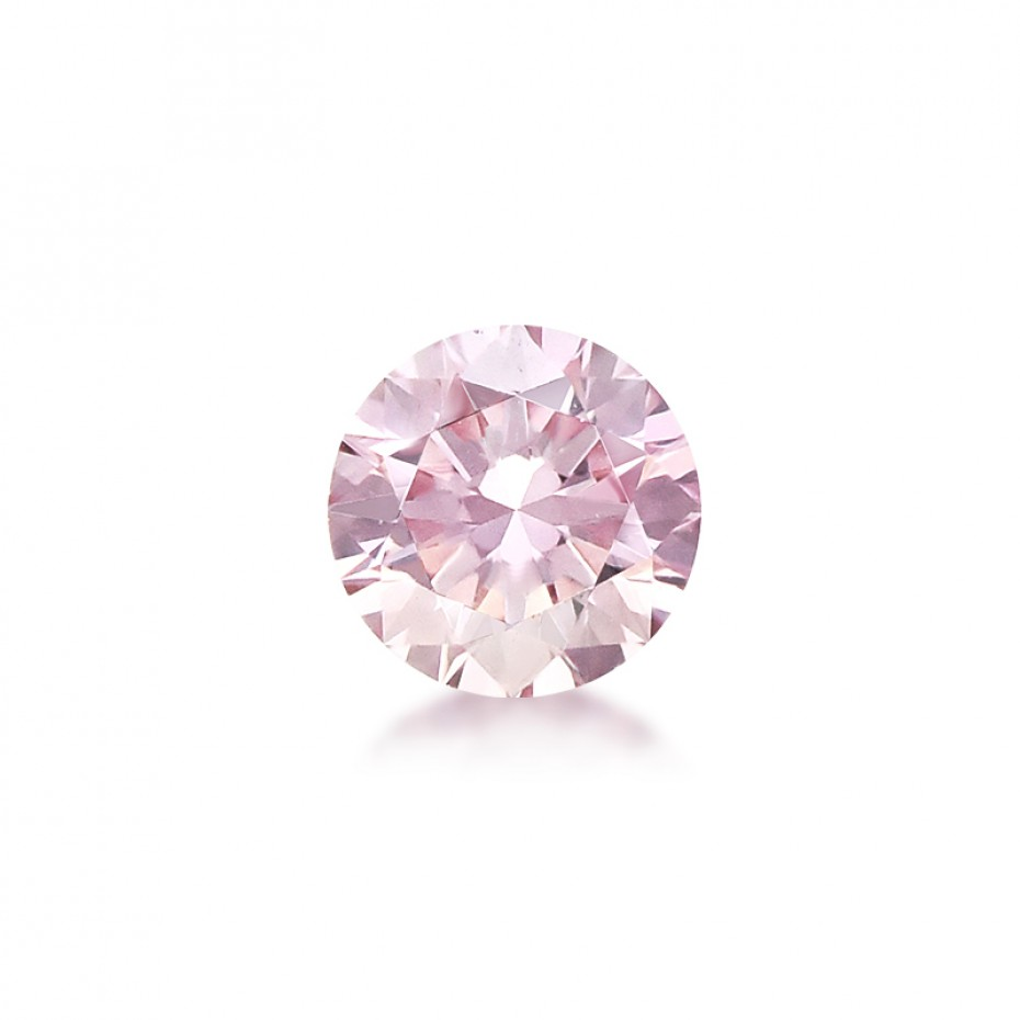ANTHONY ALAN - GIA CERTIFIED 0.36 NATURAL LIGHT PINK DIAMOND FOR SALE