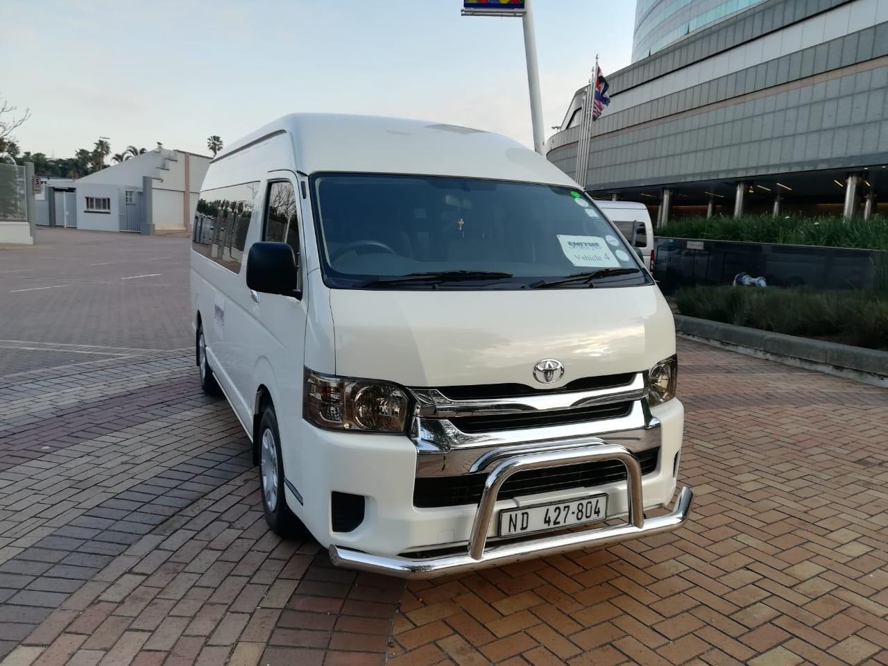 2018 Toyota Quantum 2.5D 4D GL 14 seater bus
