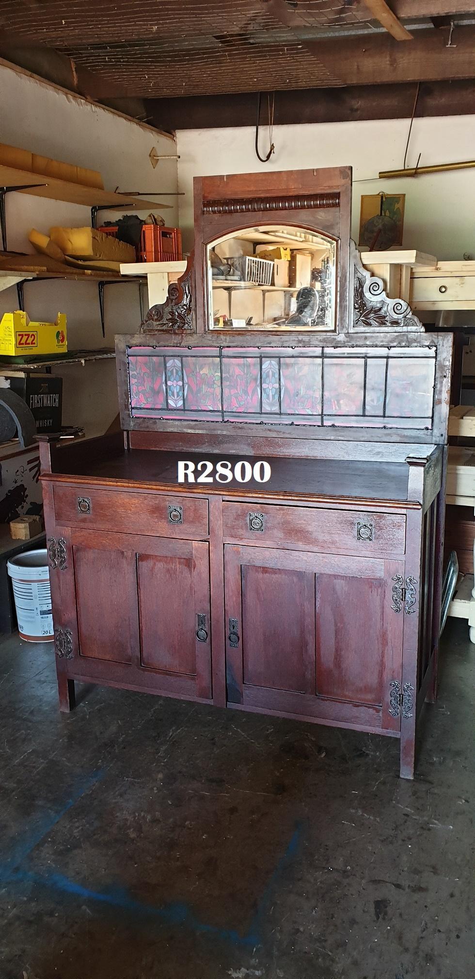 Antique Imbuia Dresser (1370x600x2000)
