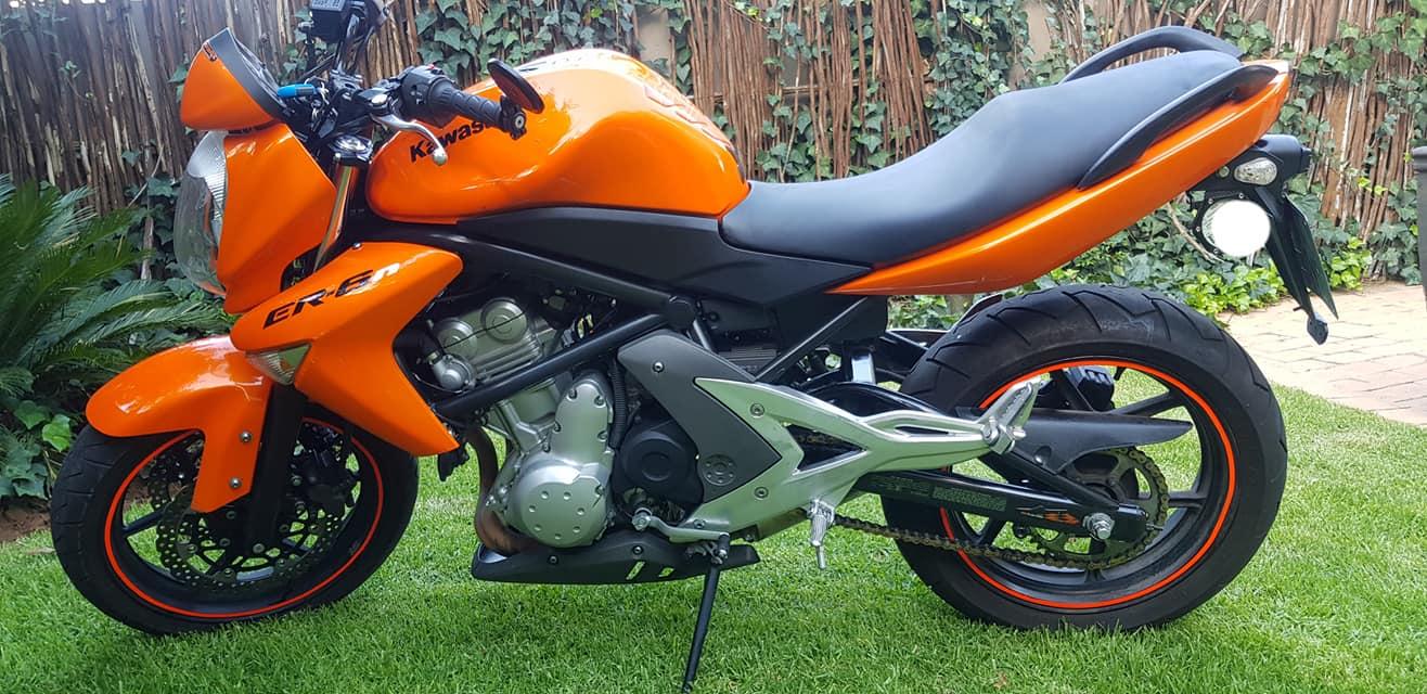 2007 Kawasaki Er6n Junk Mail
