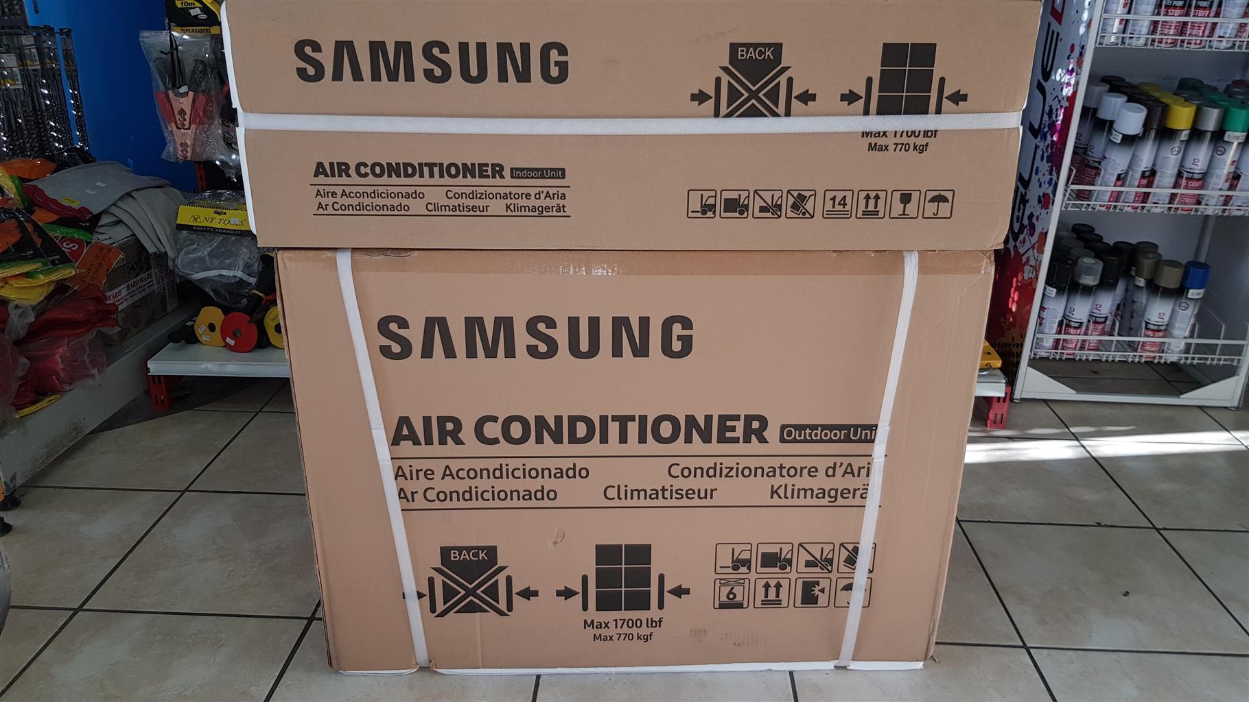 Samsung invertor 12000 btu aircon brand new