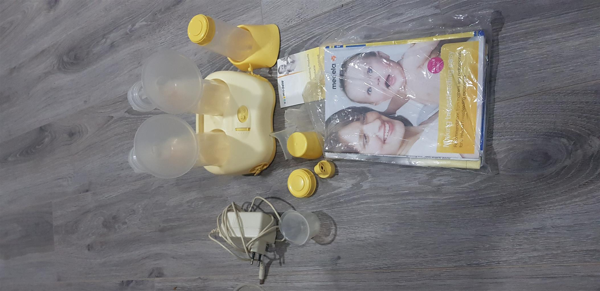 Breastpump double electric