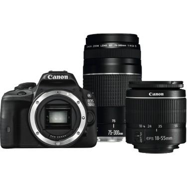 Canon EOS 100D Digital SLR Camera with EF-S 18-55mm f/3.5-5.6 III & EF 75-300