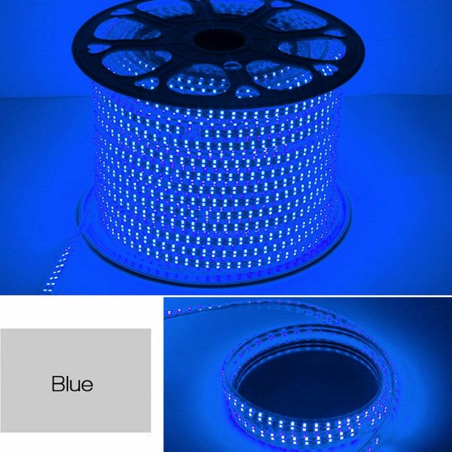 Led strip light rope light 100metres roll 220volts blue colour led strip light rope light 100metres roll 220volts blue colour aloadofball Gallery