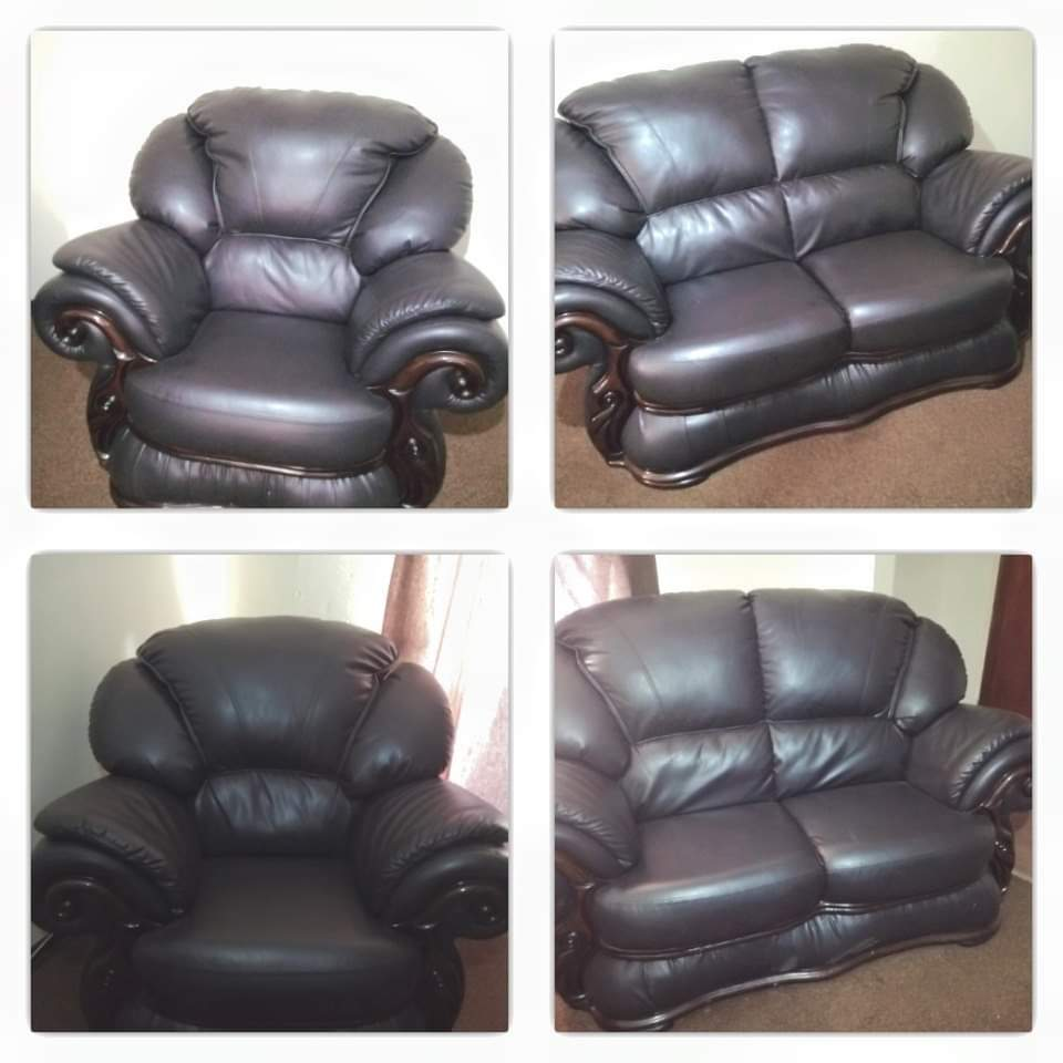 Gomma Gomma Leather Lounge Suite Junk Mail