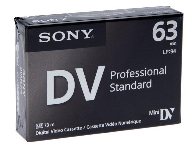 Sony DVM63PS Mini DV 63min Professional Standard - 5 Pack