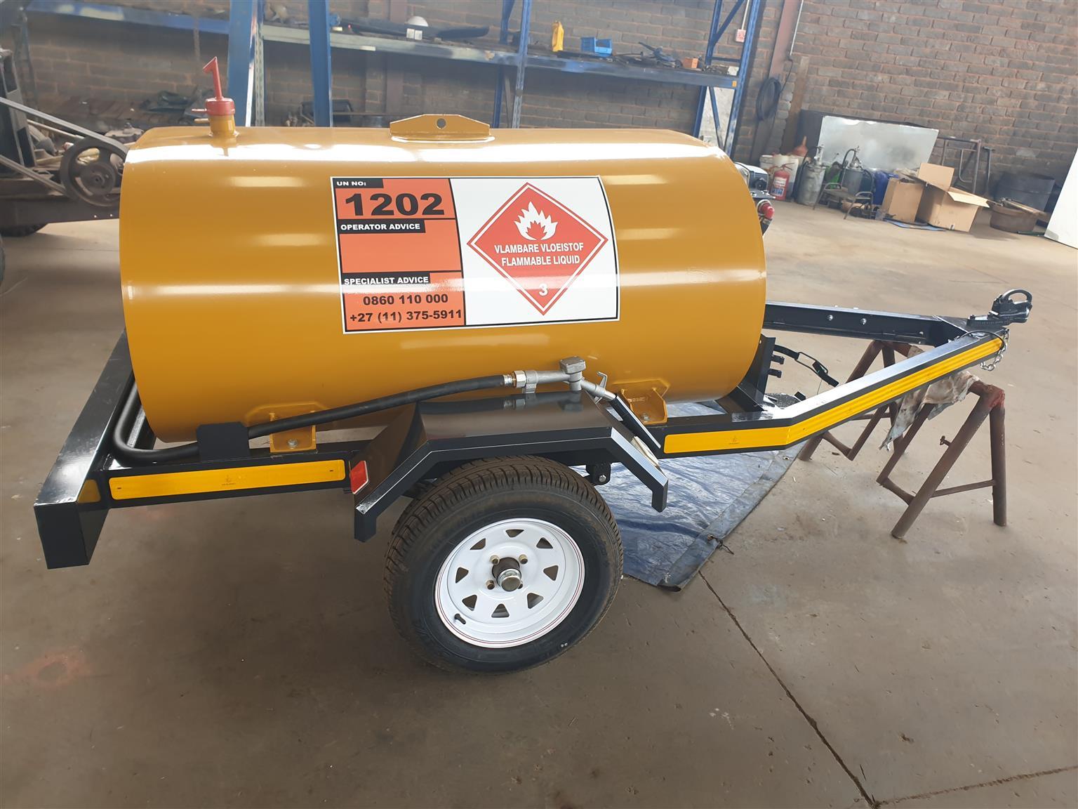 New 1000liter diesel trailer