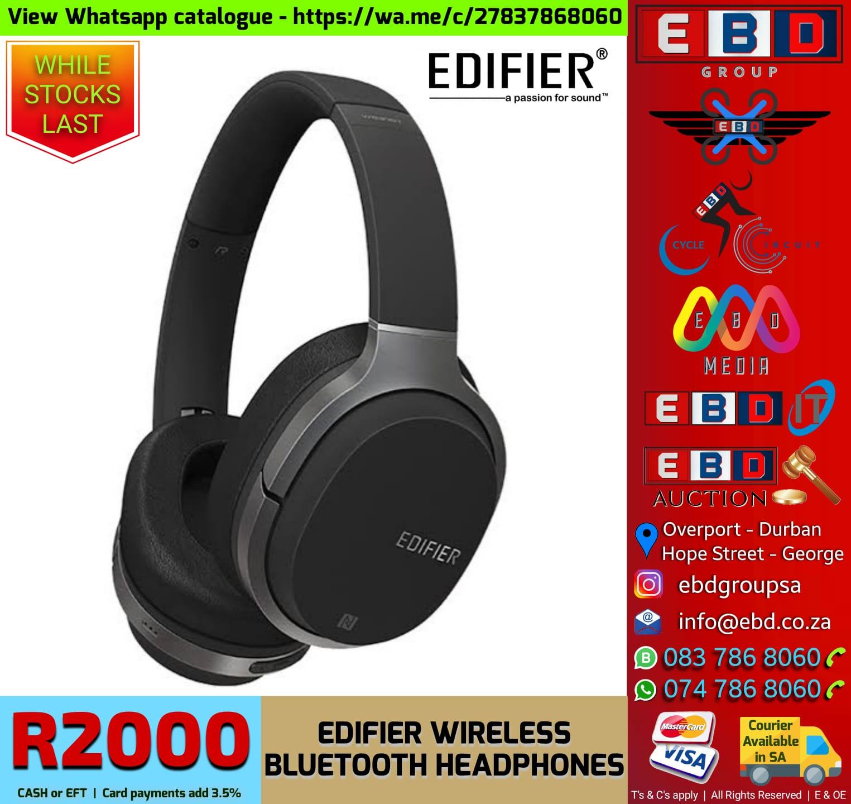 Edifier Wireless Bluetooth Headphones