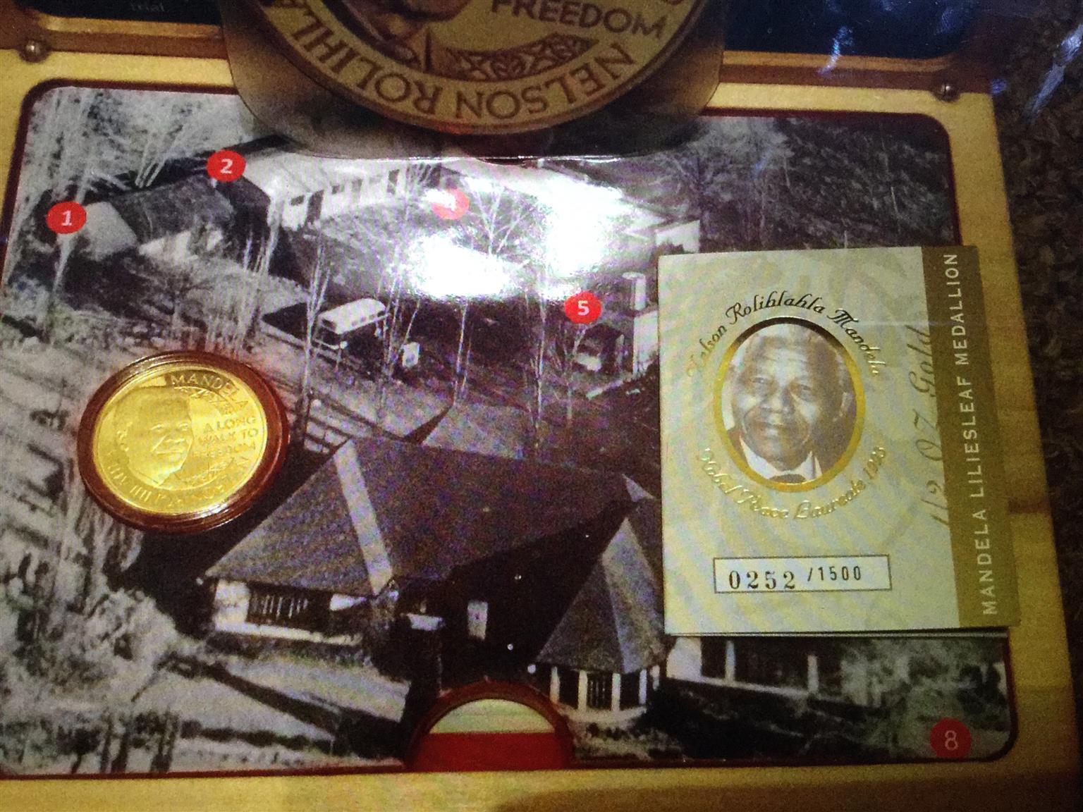 Mandela Gold Coins