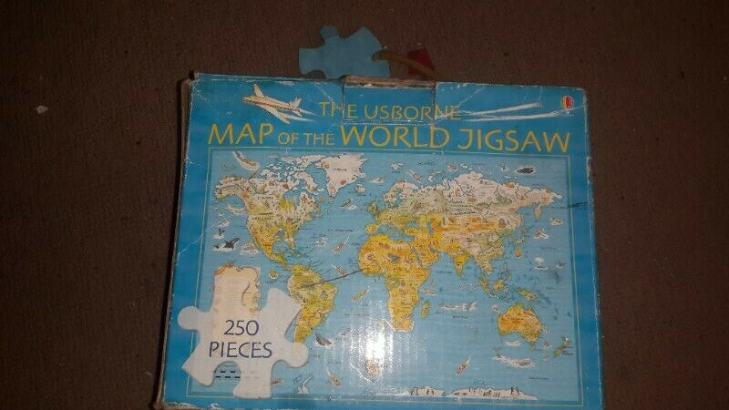 jigsaw of flags countries ,capitals and their cultural information one is 250 piece