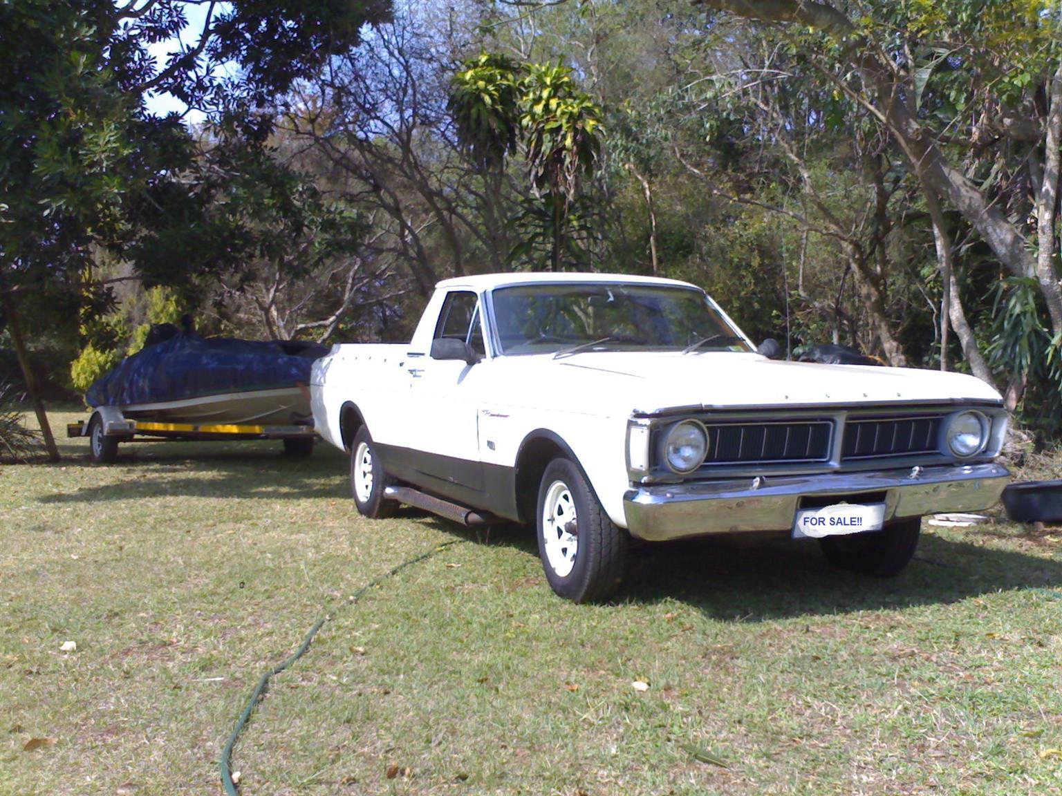 FORD Ranchero 1972 - 302 V8 UTE Bakkie XY Farmont GT shape -Classic / Muscle Car/Bakkie All-in-1