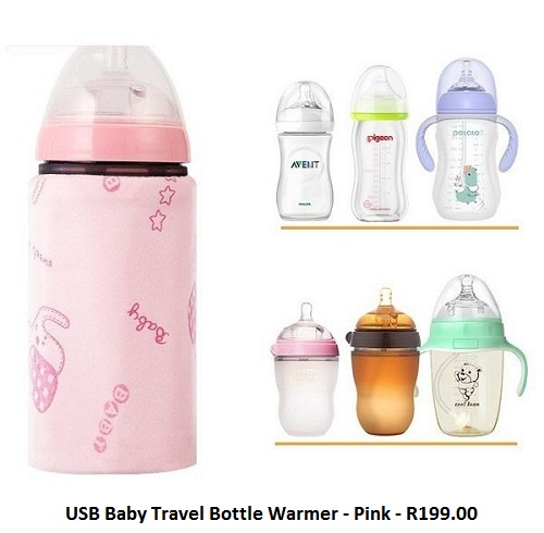 USB Baby Travel Bottle Warmer