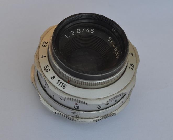 Lens for Braun Super Paxette