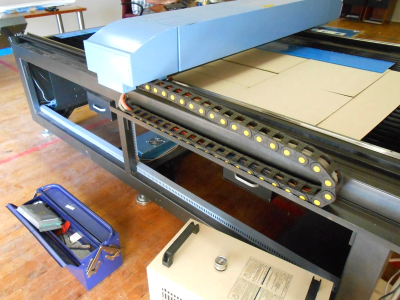 LC-1325/S90 TruCUT Standard Range 1300x2500mm Flatbed Type, Heavy Weight Motorised Table