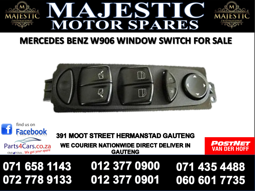 Mercedes benz W906 window switch for sale