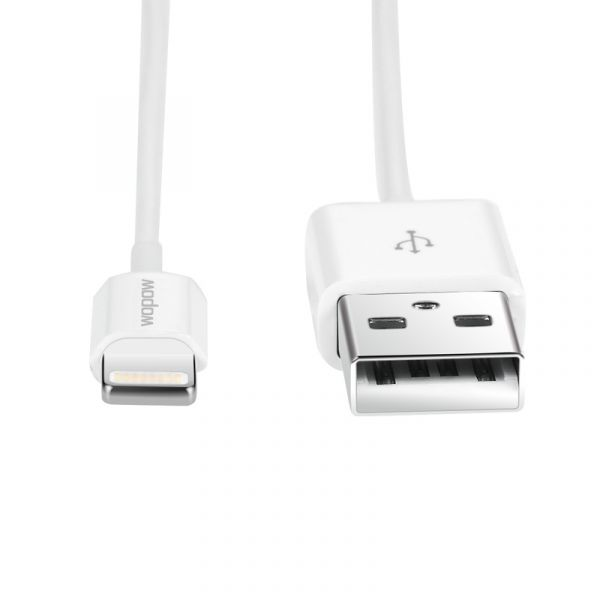 LC505X Wopow Lightning Cable For iPhone 5/5s/6/6s/7/8/X White