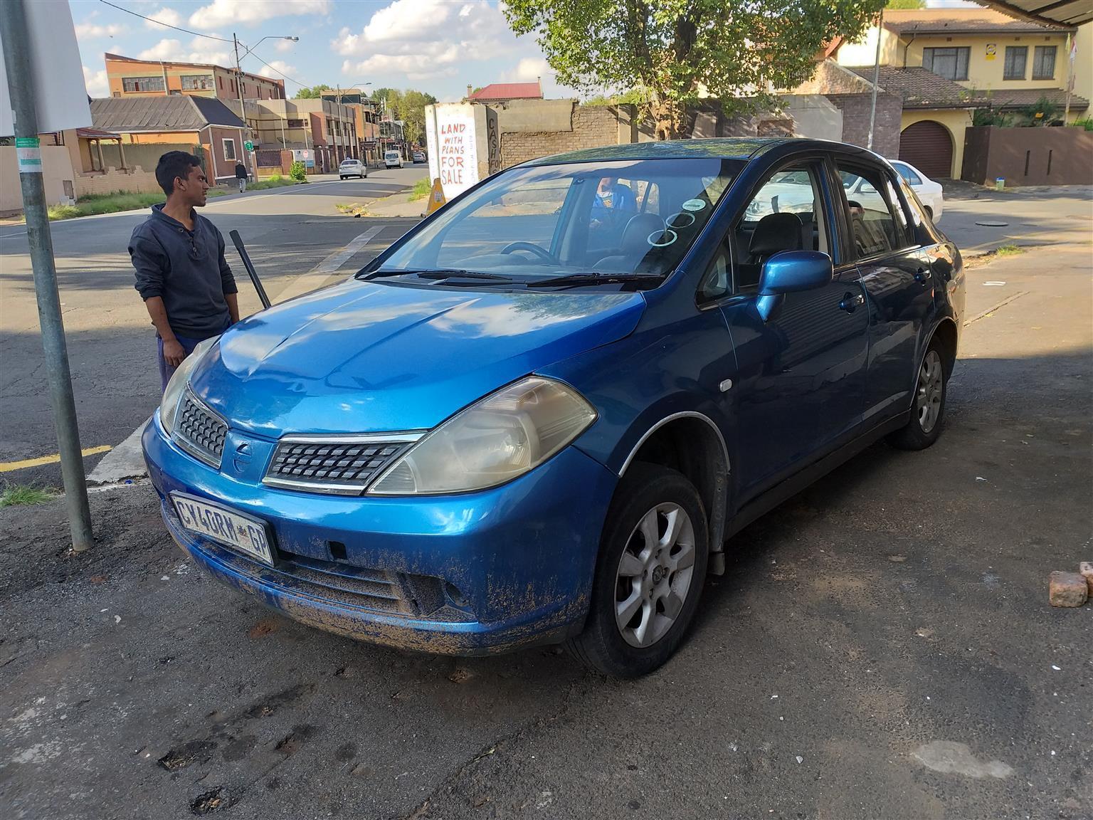nissan tiida 2008 sedan