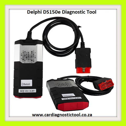 Vehicle diagnostic tool: Delphi DS150E Pro Diagnostic Tool Bluetooth with 8  Car Adapters