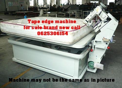 Tape edge machine for sale R75000