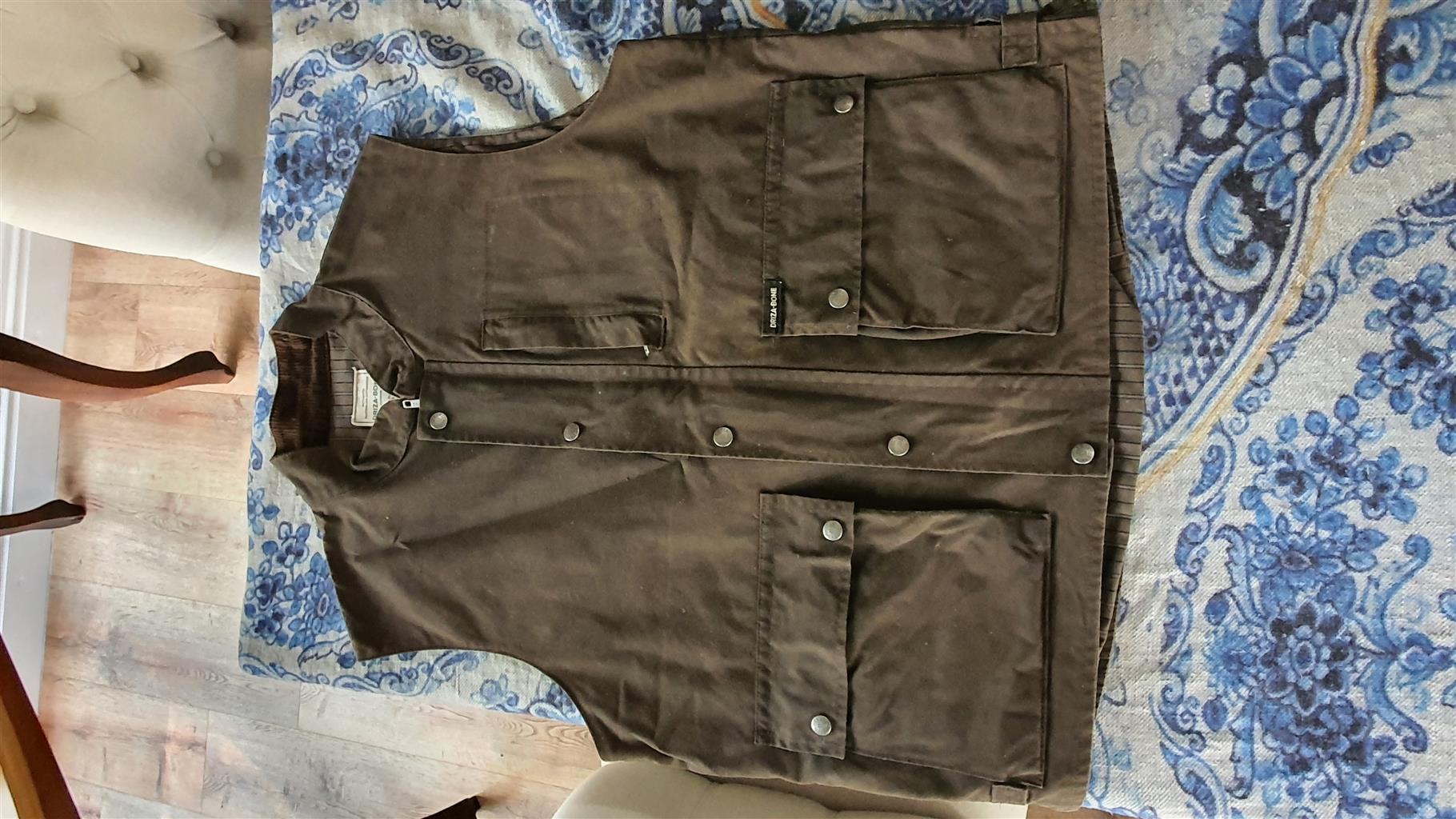Driza - Bone ( Oilskin Jacket) Size Large