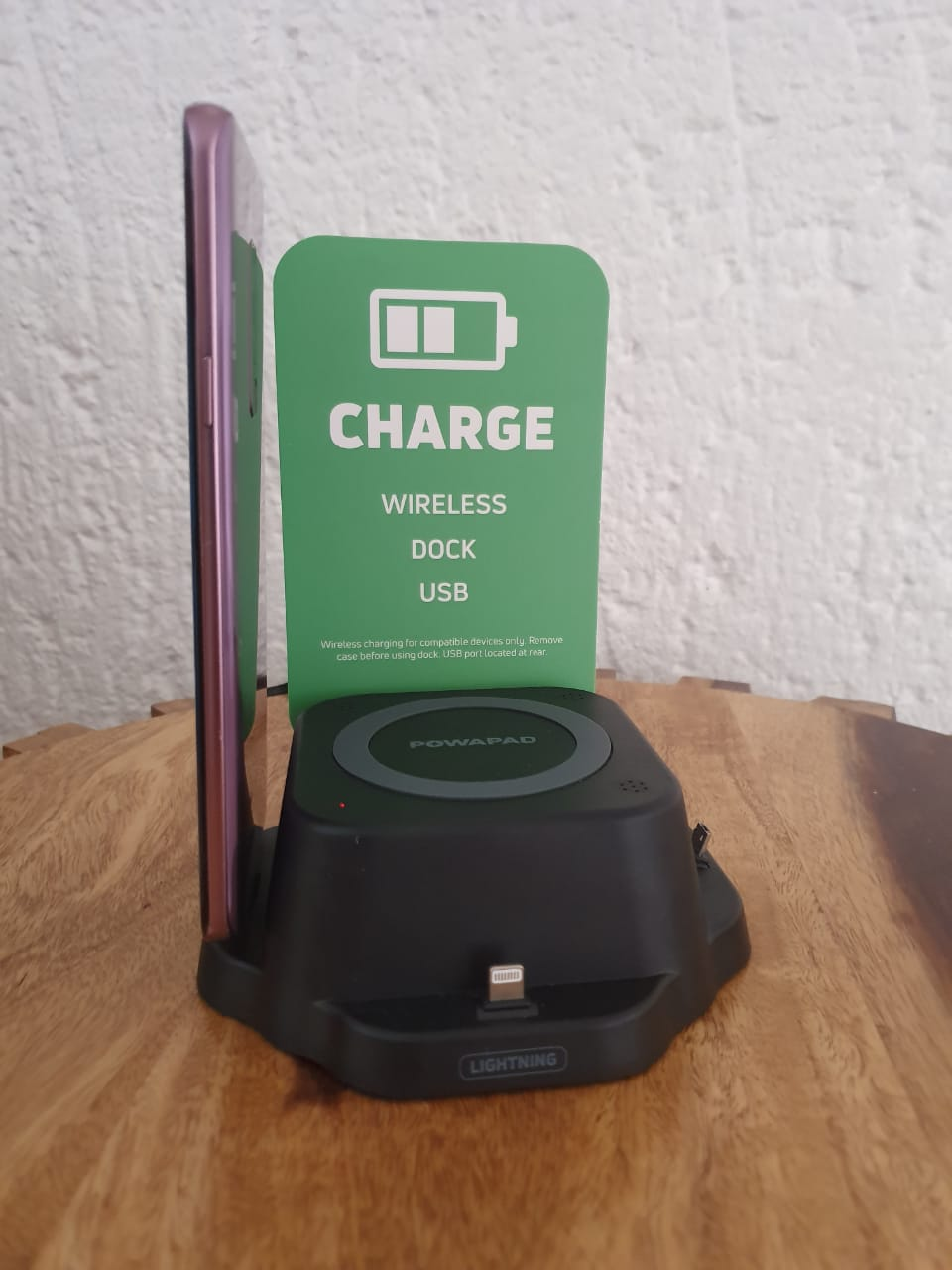 POWAPAD all in one mobile charger.
