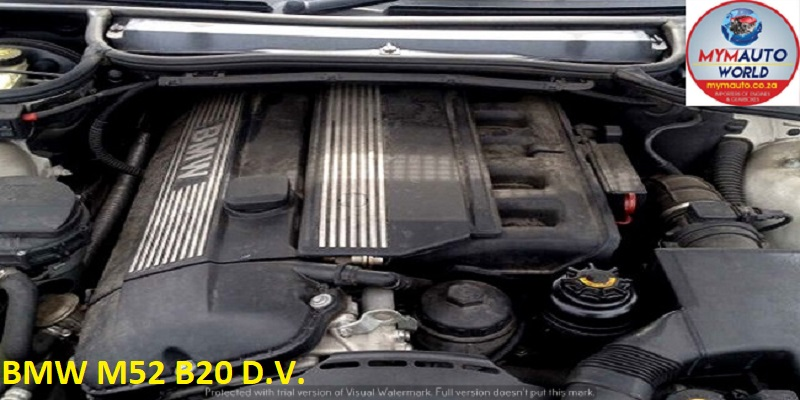 IMPORTED USED BMW E36/E46 6 CYLINDER 24V M52 B20 D.V. ENGINE FOR SALE AT MYM AUTOWORLD