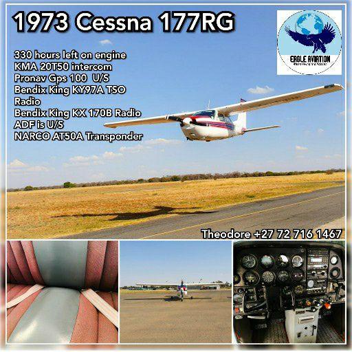 1973 CESSNA 177RG REDUCED PRICE