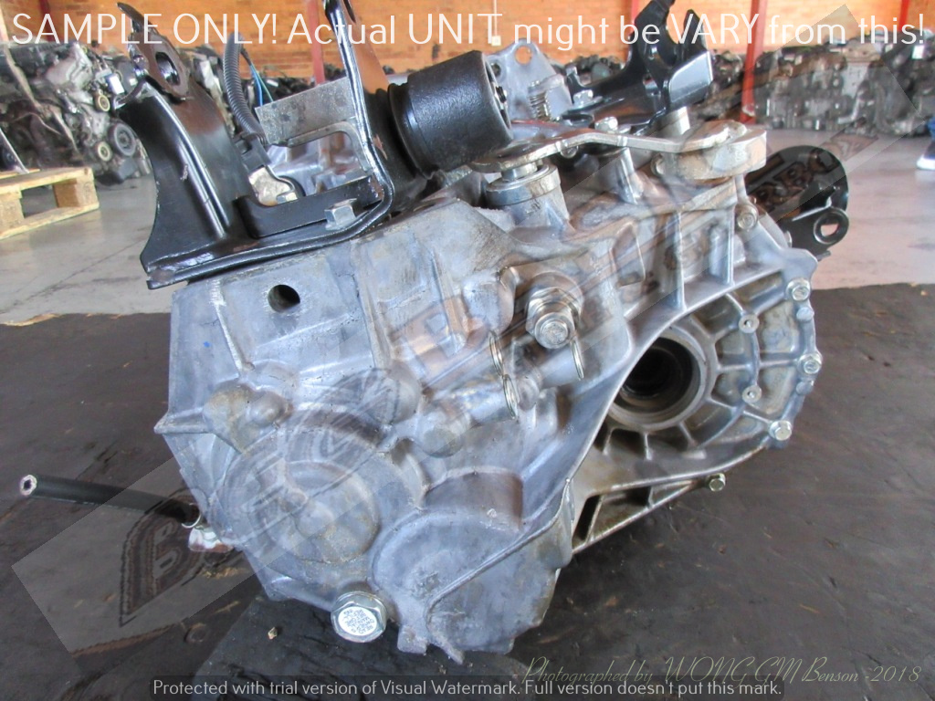 TOYOTA 1ZR 6 SPEED MT FWD Gearbox