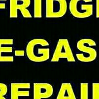 REPAIR FRIDGES AND RE GAS ON SITE