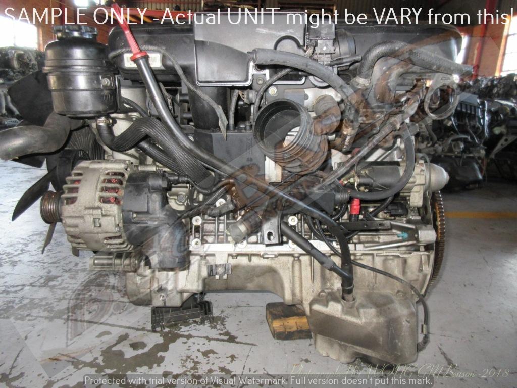 BMW 256S5 -2.5L EFI 16V Engine -323i E46 / E39