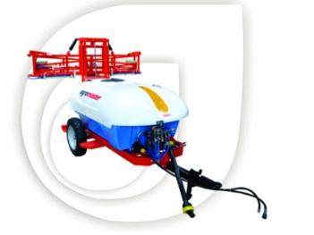 Agromaster 2000lt 14m Hydraulic Trailed Boom Spray / Hidroliese Sleep Gifspuit New Implement