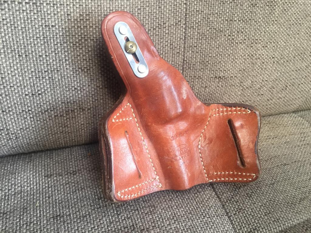 El Paso genuine leather 38R holster