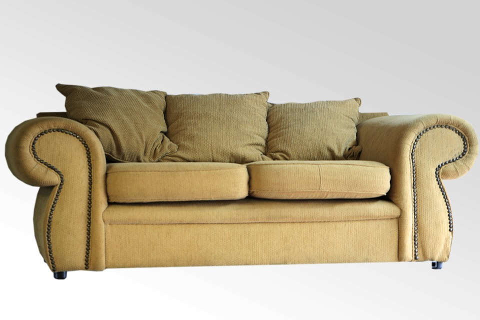 Cream 2 Seater Couch Used Junk Mail